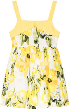 Rachel Riley Yellow And Green Lemon Sundress