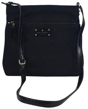 Kate Spade Black Nylon Crossbody Handbag - BLACK - STYLE