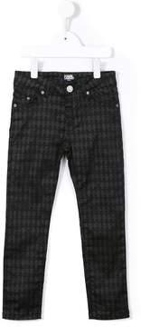 Karl Lagerfeld Kids printed trousers