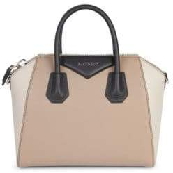 Givenchy Tri-Tone Leather Satchel