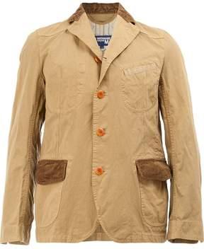 Junya Watanabe wrinkled classic blazer