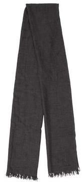 John Varvatos Rectangle Fine Knit Scarf