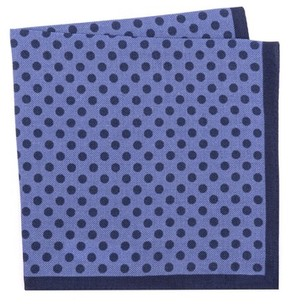 Ted Baker Men's Dot Wool Pocket Square