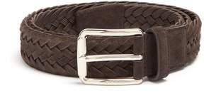 Tod's Braided suede belt