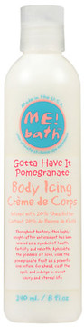 ME! Bath Body Icing Lotion Pomegranate
