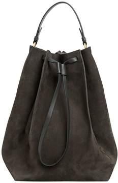 Maison Margiela Large Nubuck Leather Bucket Bag