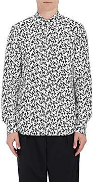 Marni Men's Spike-Print Cotton Shirt