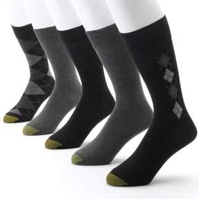 Gold Toe GOLDTOE Men's GOLDTOE 5-pk. Argyle Dress Socks