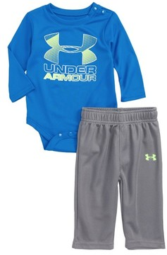 Under Armour Infant Boy's Hybrid Logo Graphic Bodysuit & Pants Set