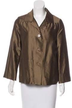 Aspesi Long Sleeve Button-Up Jacket