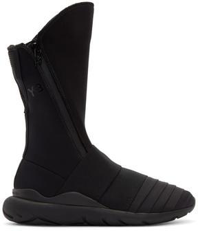 Y-3 Black Qasa Elle Boots