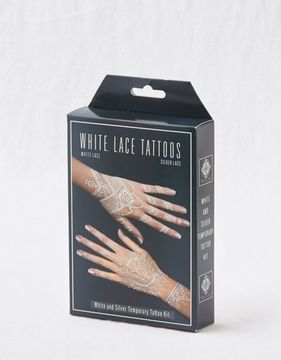 Aerie Earth Henna White Lace Tattoo Kit