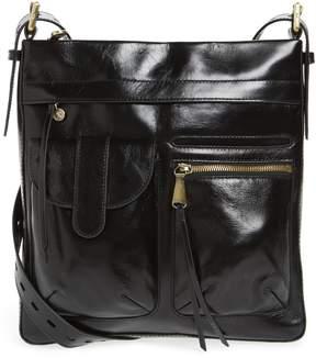 Hobo Crusade Leather Crossbody Bag