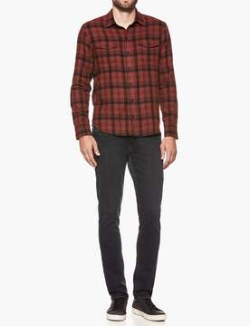 Paige Everett Shirt - Mineral Red Ashville Plaid