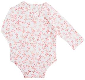 Aden Anais aden + anais - Long Sleeve Kimono Body Suit Girl's Jumpsuit & Rompers One Piece