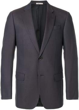 Armani Collezioni textured blazer