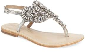 Ralph Lauren Lorraine Vera Embellished Sandal