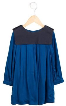 Chloé Girls' Pleated A-Line Dress w/ Tags
