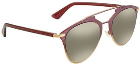 Christian Dior Silver Aviator Sunglasses REFLECTED/S 0TYJ