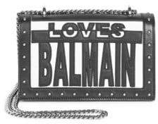 Balmain Love Cutout Bag