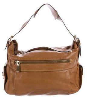 Marc Jacobs Grained Leather Shoulder Bag - BROWN - STYLE