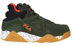 Fila Men's Green Suede Sneakers.