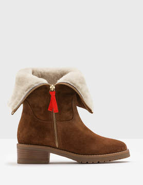Boden Fold-Over Sherpa Boots