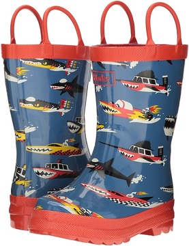 Hatley Monster Boats Rain Boots Boys Shoes