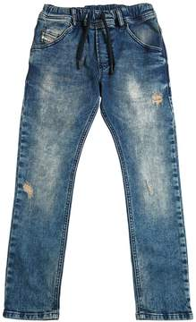 Diesel Stonewashed Ultra Stretch Denim Jeans