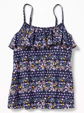 Old Navy Floral Ruffle-Yoke Cami for Girls
