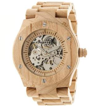 Earth Grand Mesa Collection ETHEW3101 Unisex Wood Watch with Wood Bracelet-Style Band