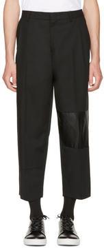 McQ Black Taigen Trousers