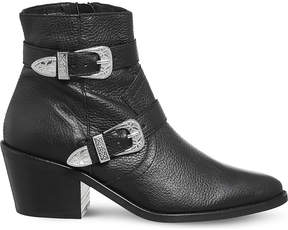 Office Alpha leather ankle boots