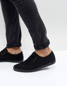 Fred Perry Byron Low Canvas Sneakers
