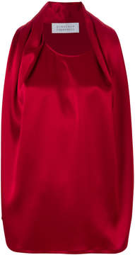 Gianluca Capannolo pleated front tank top