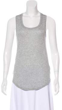 ATM Anthony Thomas Melillo Sleeveless Scoop-Neck Top