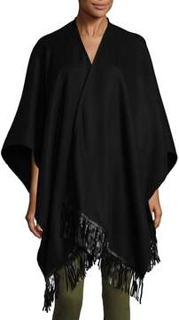 Portolano Women's Ruana Nappa Wool Shawl