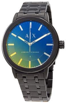 Armani Exchange Rainbow Ombre Dial Men's Watch