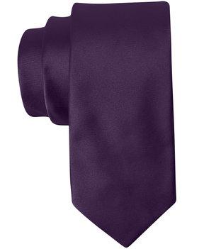 Bar III Solid Satin Slim Tie