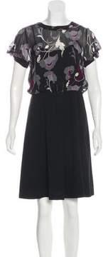 DKNY A-Line Knee-Length Dress