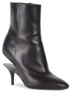 Maison Margiela Illusion Runway Leather Booties