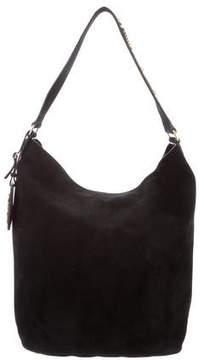 Saint Laurent Studded-Strap Hobo Bag