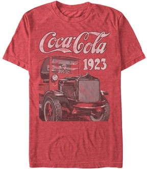 Fifth Sun Heather Red '1923' Coca-Cola Tee - Men
