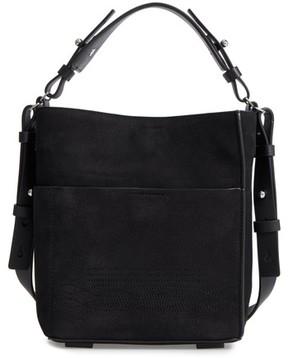 AllSaints Cooper Mini Leather Tote - Black