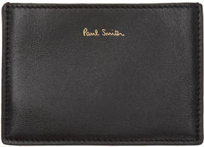 Paul Smith Black Concertina Card Holder