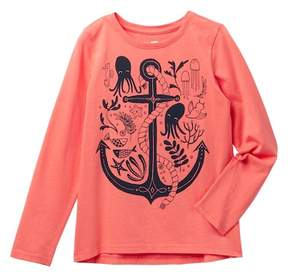 Tea Collection River Polly Graphic Tee (Toddler, Little Kid, & Big Kid)