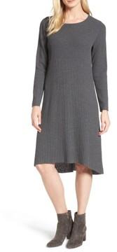 Eileen Fisher Women's Ribbed Wool Sweater Dress