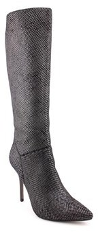 Fergie Prance Women Pointed Toe Synthetic Black Knee High Boot.