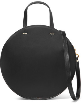 Clare Vivier Alistair Small Leather Shoulder Bag - Black
