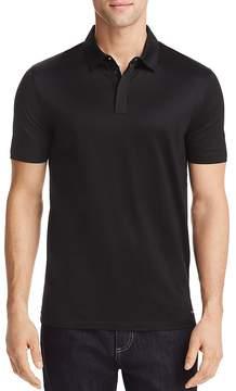 HUGO Dajm Linen Regular Fit Polo Shirt